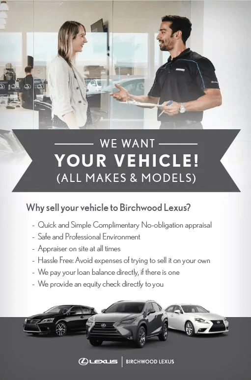 Sell us your vehicle