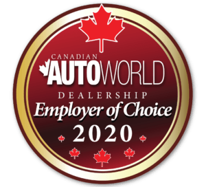 Canadian AutoWorld Dealership Employer of Choice 2020