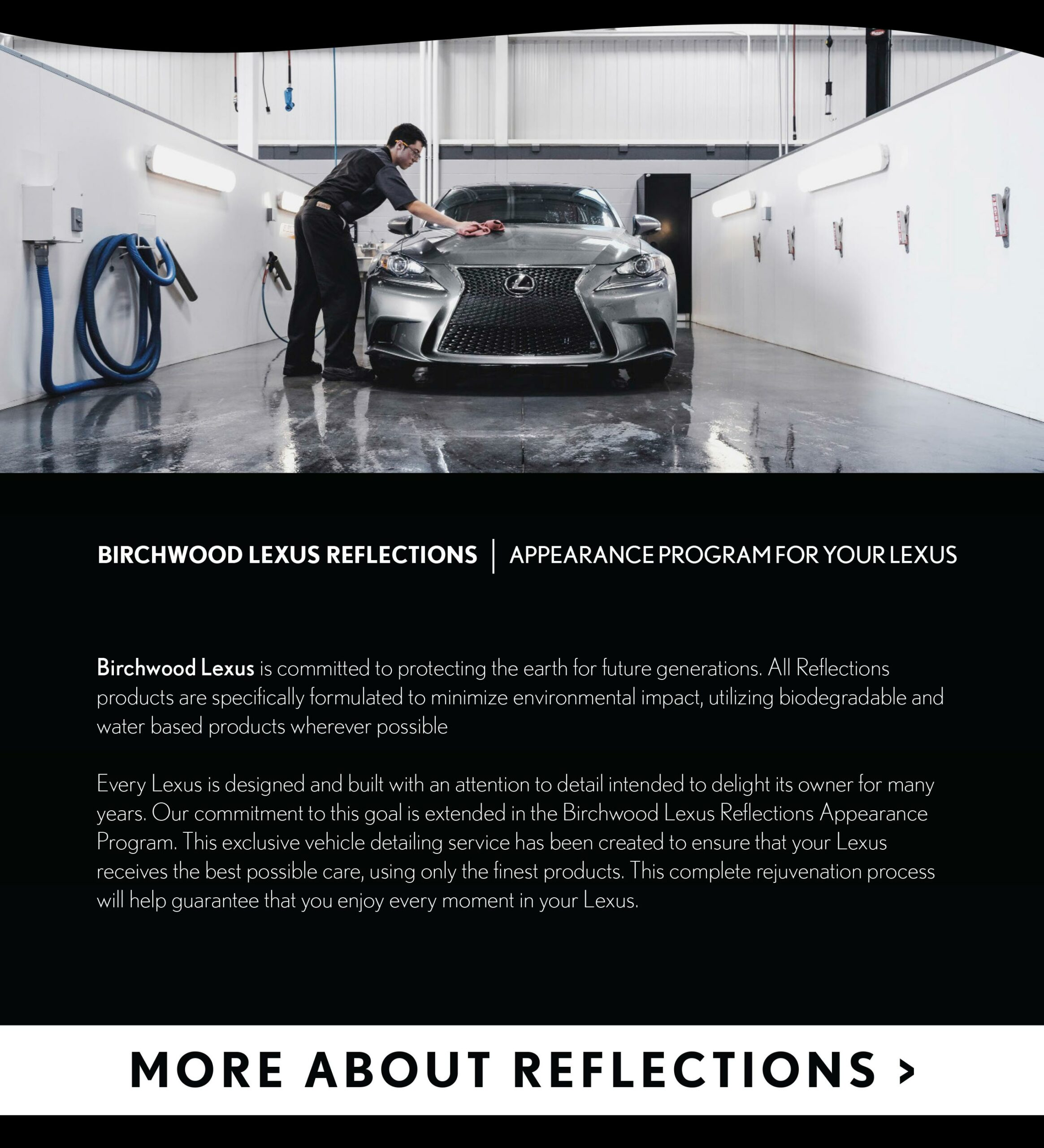 Birchwood Lexus reflections
