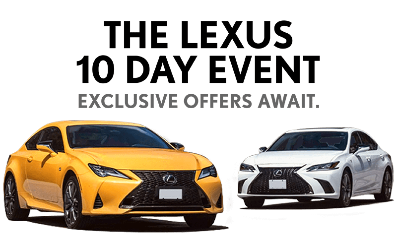 The Lexus 10 Day Event